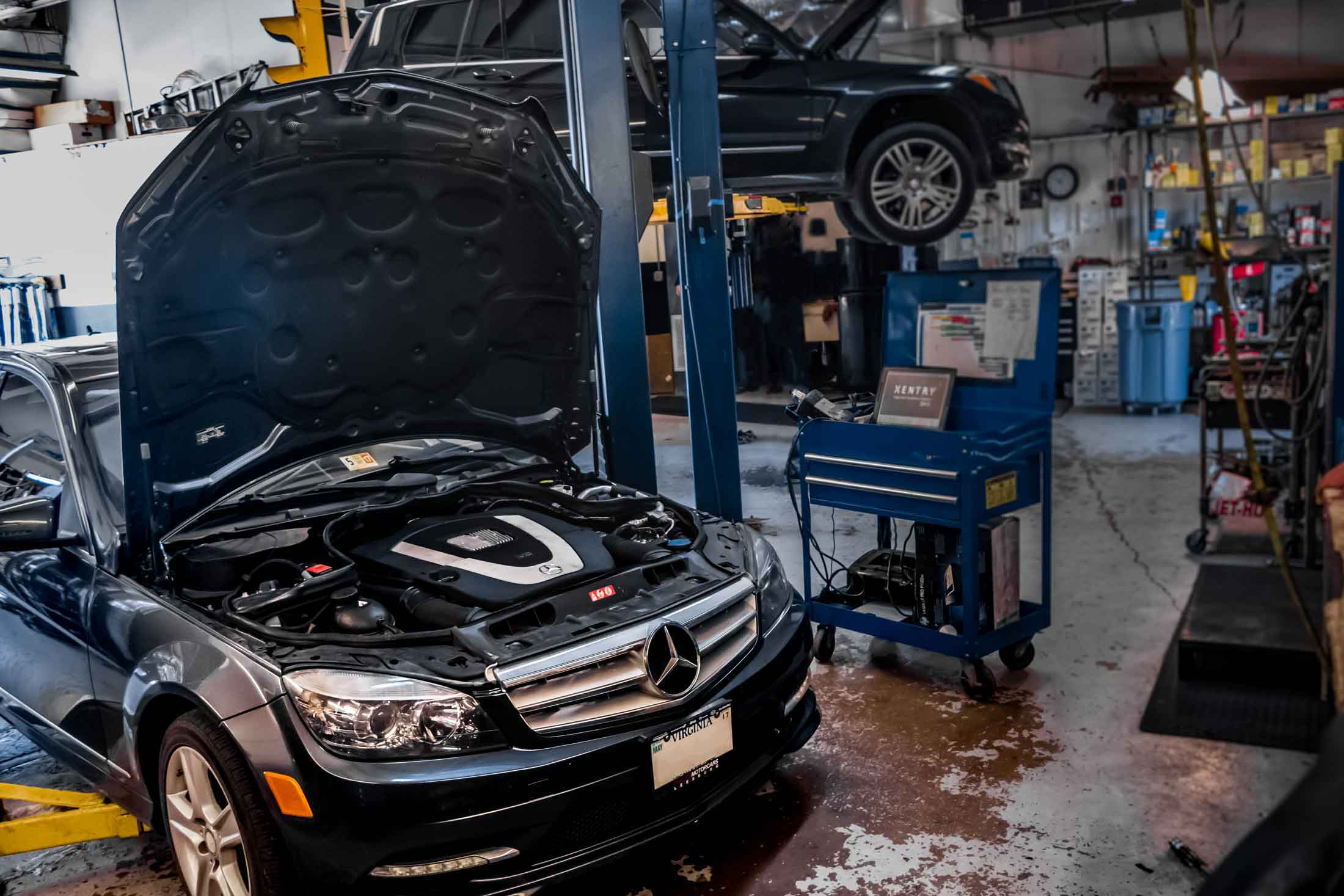 Mercedes benz bmw service and auto repair shop in for Mercedes benz northern virginia