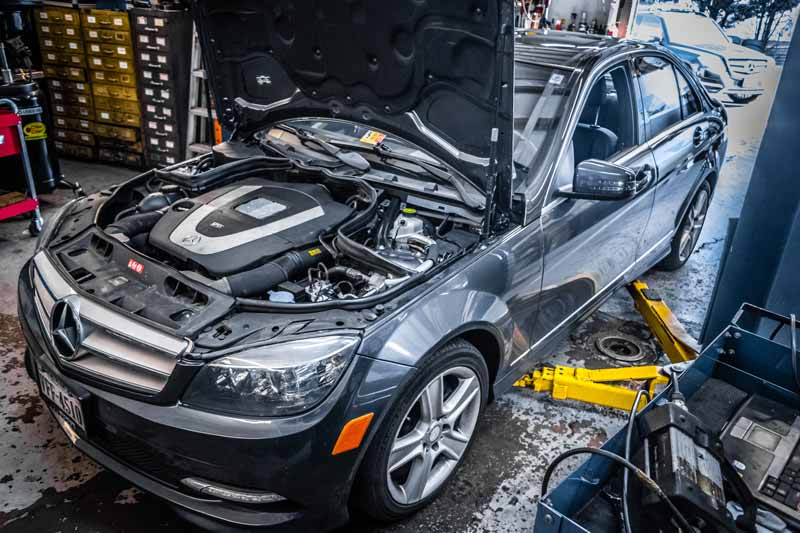 Mercedes benz service repair and maintenance in motion for Mercedes benz auto repair shop
